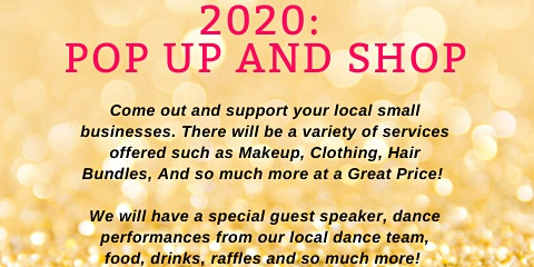 2020: POP UP AND SHOP