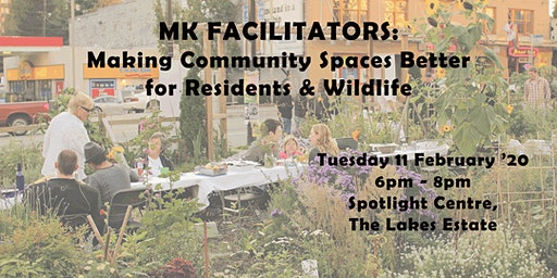 Facilitator Group Meeting: Creating Better Spaces for Residents & Wildlife