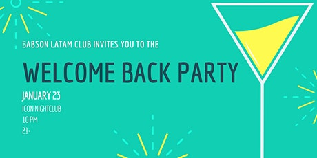 Welcome Back Party - Babson Latin American Club tickets