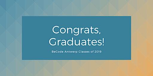 BeCode Antwerp - Graduation