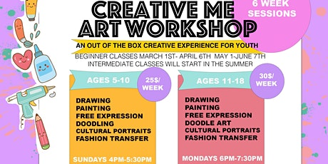Creative Me Art Workshop tickets