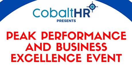 Peak Performance and Business Excellence tickets