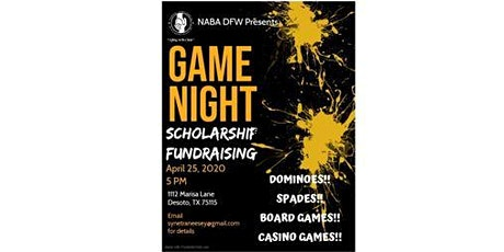 NABA DFW Game Night Scholarship Fundraiser tickets