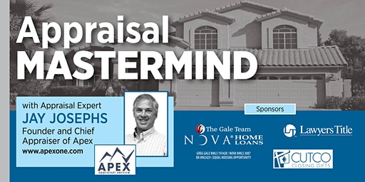 Appraisal Mastermind with Jay Josephs!