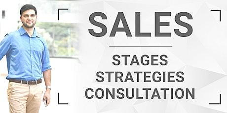 Sales : Stages, Strategies & Consultation entradas