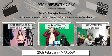 Kids TV Presenting Day tickets