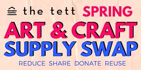 Spring Art & Craft Supply Swap tickets