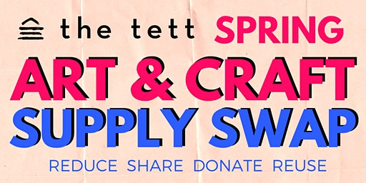 Spring Art & Craft Supply Swap