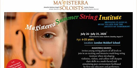 Magisterra Summer String Institute tickets