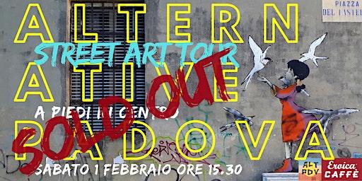 Tour a piedi di Street Art di Alternative Padova