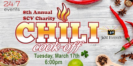 SCV Charity Chili Cook-Off tickets