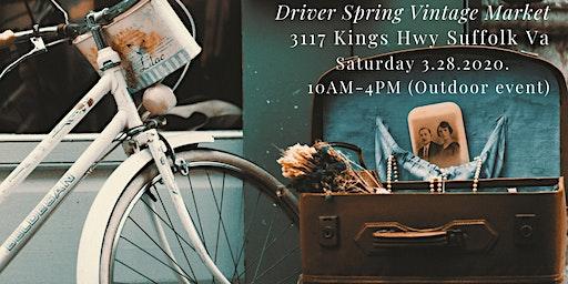 Simply Vintage Spring Driver Market