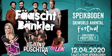Speikboden Festival 2020 /w Fäaschtbänkler, Isi Glück uvm. biglietti