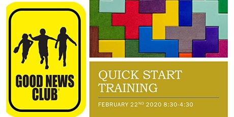 QUICK START TRAINING FOR GOOD NEWS CLUBS tickets