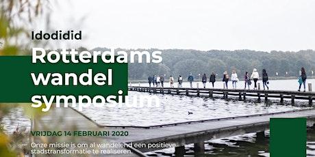 Rotterdams wandel symposium 40% korting tickets
