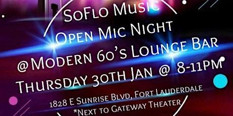 So Flo Music: Open Mic Night tickets