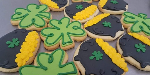St. Patrick's Day Cookie Class!! Drink Included!!