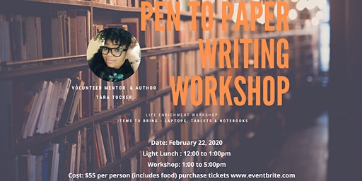 The Gift of Womanhood, Inc. Presents Pen to Paper Writing Workshop