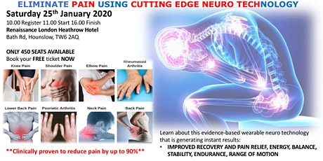 New Neuro Tech for Chronic Pain Relief tickets