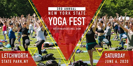 New York State Yoga Festival at Letchworth State Park tickets