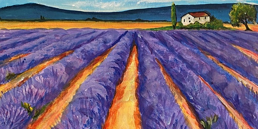 Paint Party Event - 'Lavender Fields' The Chequered Skipper, ASHTON, OUNDLE