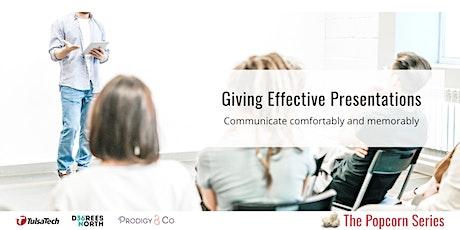 Giving Effective Presentations entradas