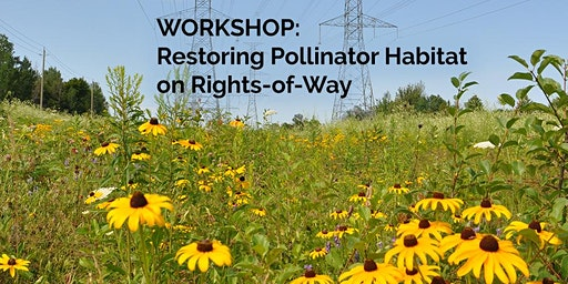 Restoring Pollinator Habitat on Rights-of-Way Workshop