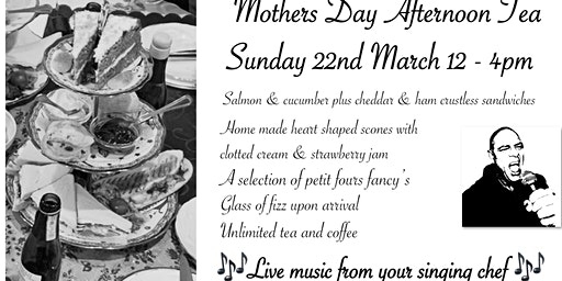 Mothers Day Afternoon Tea  with Fizz & live Music at Daisy's Tea Room!
