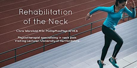 The Neck: Clinical Rehabilitation-13-14 June 2020-Sheffield tickets