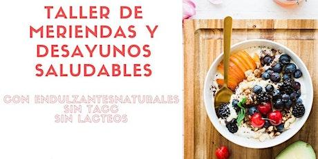 Taller de  meriendas y desayunos saludables vegano y gluten free entradas