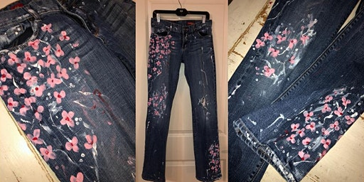 Hand Painted Jeans Workshop- Buford