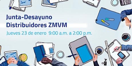 Junta - Desayuno Distribuidores ZMVM entradas