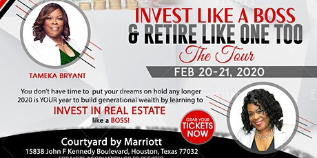 Invest Like a Boss Tour tickets