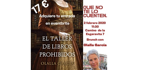 Olalla García en ParoleParoleParole  (QUE NO TE LO CUENTEN Salas eventos) entradas
