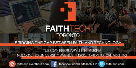 FaithTech Toronto February Meetup tickets