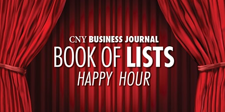2020 Book of Lists Happy Hour tickets