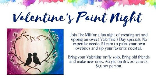 Valentine's Paint and Sip