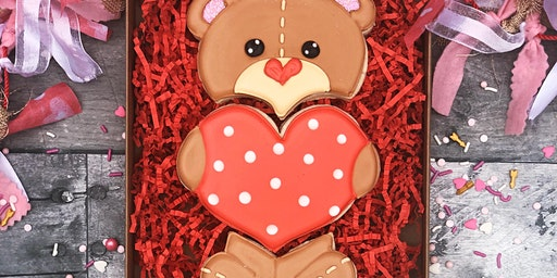 Valentine's Bear Cookie Decorating Class