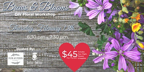 Brews and Blooms tickets