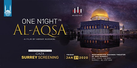 One Night in Al-Aqsa Film Screening · Surrey tickets
