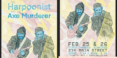 The Harpoonist and the Axe Murderer tickets