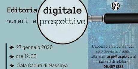 Editoria digitale: numeri e prospettive biglietti