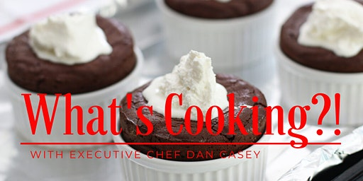 "What's Cooking?! ""Chocolate Soufflé"""
