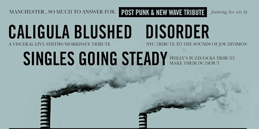 LIVE NEW WAVE + POST-PUNK TRIBUTE NIGHT!