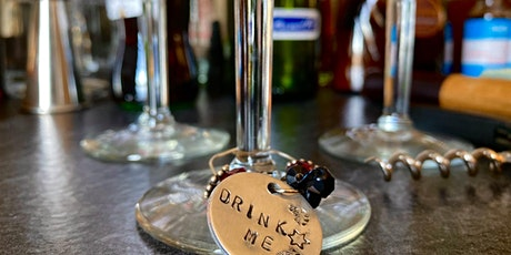 Wine & Art Wednesday: Stamped Wine Charms tickets