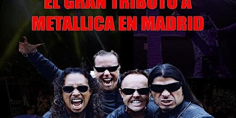 EL GRAN TRIBUTO A METALLICA EN MADRID- Gintonica- entradas