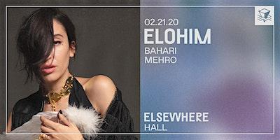 Elohim @ Elsewhere (Hall)