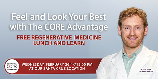 FREE Lunch and Learn Regenerative Medicine Seminar