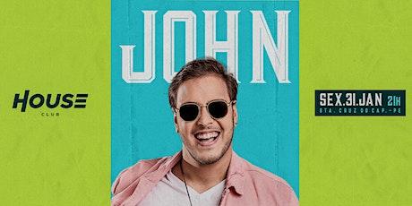 John Geração - House Club ingressos
