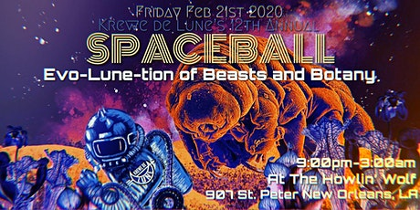 Krewe de Lune's 12th Annual Space Ball tickets